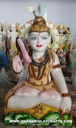 Marble Shiva Idol