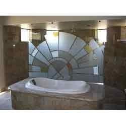 Bathroom Glass Creation