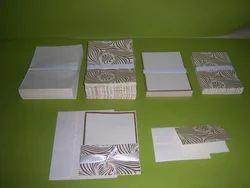 Do It Your Self  Handmade Paper Blank Wedding Invites