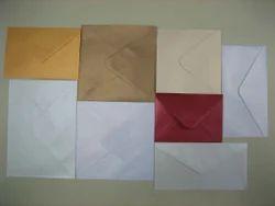 Metallic Handmade Paper Envelopes