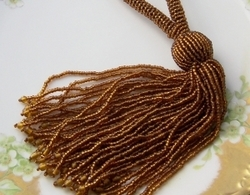 Threaded Tassels