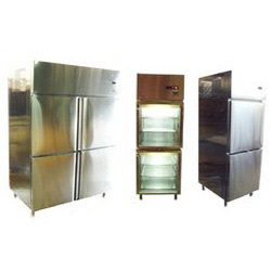 Vertical Refrigerator Freezer Combination