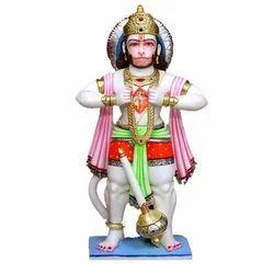 Hanuman Ji with Ram and Sita