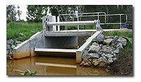 Tilting Weir Gates