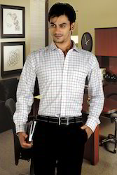 Men's Full Sleeves Formal Shirt