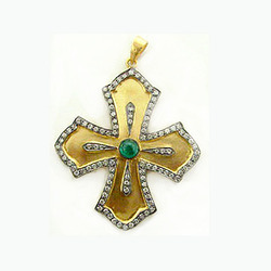 Fusion Cross Pendant