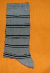 AOV /MN/ST/38B Men Stripe Socks