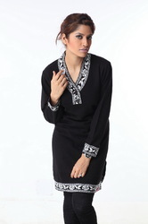 Ladies long sweater 09