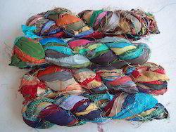 Sari Silk Ribbon Yarns