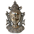 goddess tara- white metal sculpture