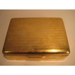 Brass Cigarette Boxes