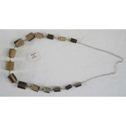 Horn Beaded Necklace