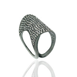 Pave Diamond Small Rings