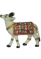 Meena Item Cow Statue