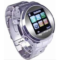Stainless Steel Watch Mobile Phone