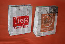 Logo Printed Paper Bags For News Papers