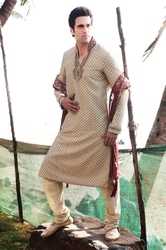 Embroidered Kurta Pajamas