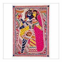 Madhubani Kriya Shivashakti Paintings