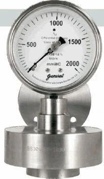 Differential Pressure Gauges Bellow Diaphragm Type