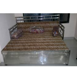 Stainless+Steel+Sofa+Cum+Bed