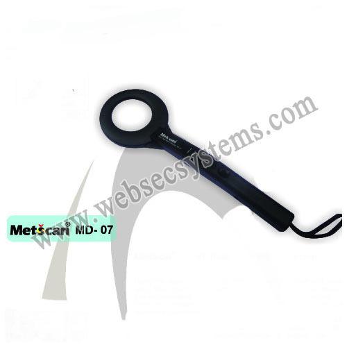 Hand Held Metal Detector-Metscan 07