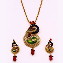 Peacock Style Antique Pendant Sets