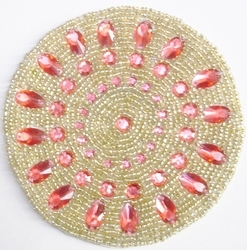 Beaded Coaster CO115