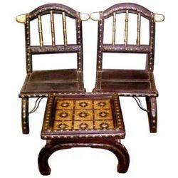 Cart Chair & Cart Center Table