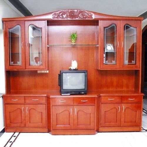 Wooden TV Showcases from Magnaa Modules & Systems Private Limited ...