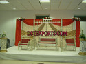 Wedding Sankheda Swing With Designer Backdrop