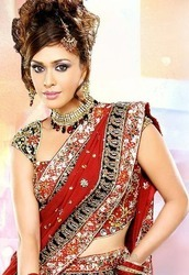 Exclusive+Embroidered+Sarees