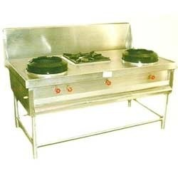 Chinese Gas Range With Stock Pot