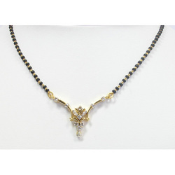 Avsar Real Gold and Diamod Fashionable Marriage Mangalsutra