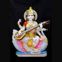 colored saraswati devi statues