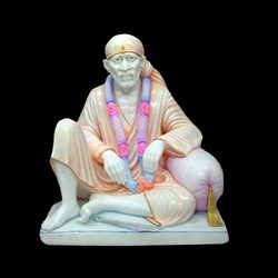 Beautiful Sai Baba Murti with Colours