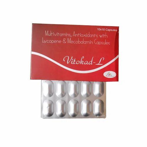 Antioxidants Multivitamins Medicines Lycopene With Multivitamin