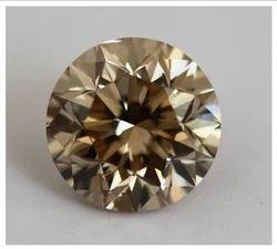 Brown Diamond C-4 Round 9.04 cts SI-2