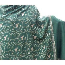 Full Embroidered Woolen Shawl