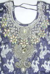 Beaded Necklines