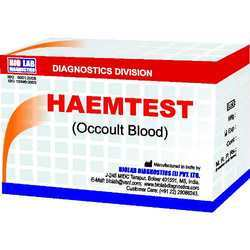 Haemtest (For Occult Blood With Ve & -ve Control)