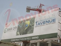 Sign Boards Construction Service