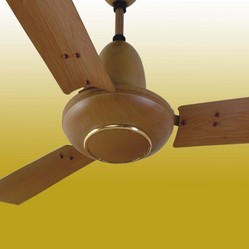 Orchid Wood Finish Fan