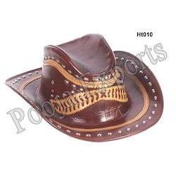 Brown Leather Hat ( Product Code: Ht010-P500)