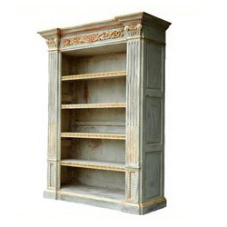 Adjustable Wooden Bookcase