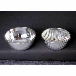Silver Soup Bowl