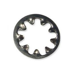 0.0260 Thick 0.4690 OD Pack of 100 1//4 Bolt Size Zinc Finish 0.2620 ID Steel Internal Tooth Lock Washer
