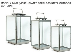Nickel Plated Seaport Lanterns
