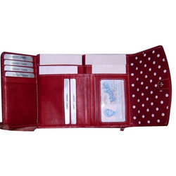 Fancy Red Ladies Wallet