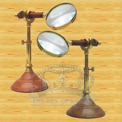 Magnifying+9.5%22+Glass%2C+Wooden+Handle%2C+Wooden+Stand