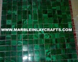 malachite tiles